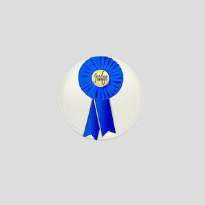 Judge Rosette Mini Button