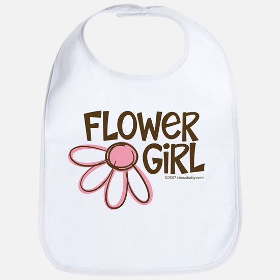 Flower Girl Bib
