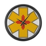 New Mexico Ems Large Wall Clock