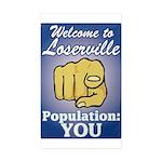 Loserville Sticker (rectangle 10 Pk)