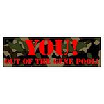 Gene Pool (bumper 10 Pk) Bumper Sticker