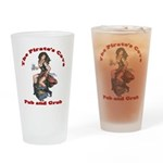 Pirate's Cove Drinking Glass