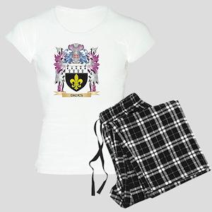 Dicks Coat of Arms (Family Women's Light Pajamas