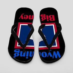 Big Piney Wyoming Flip Flops