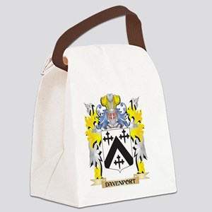 Davenport Coat of Arms - Family C Canvas Lunch Bag