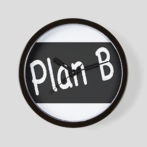 Plan B Wall Clock