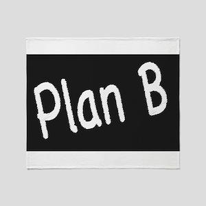 Plan B Throw Blanket
