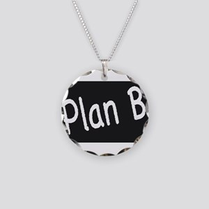 Plan B Necklace Circle Charm