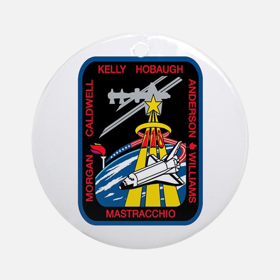STS 118 Endeavour Ornament (Round)