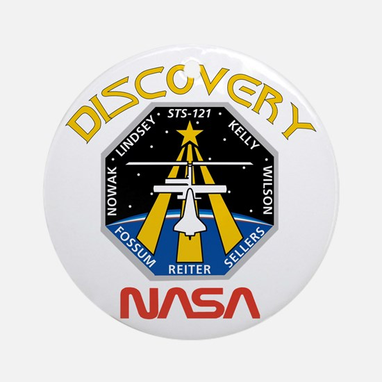 STS 121 Discovery Ornament (Round)