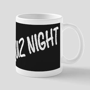 Quiz Night Blackboard Mugs