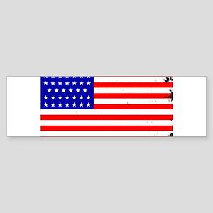 Civil War Union Flag Bumper Sticker