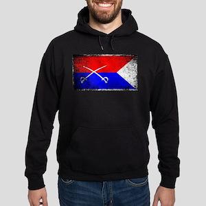 Custer HQ Flag Hoodie (dark)