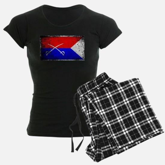 Custer HQ Flag Pajamas