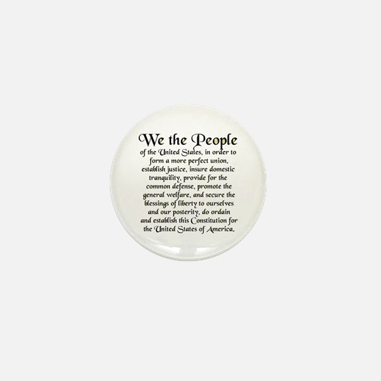 We the People US Mini Button