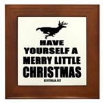 Have Yourself A Merry Little Christmas Framed Tile