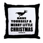 Have Yourself A Merry Little Throw Pillow