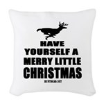 Have Yourself A Merry Little Woven Throw Pillow