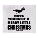 Have Yourself A Merry Little Throw Blanket