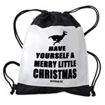 Have Yourself A Merry Little Christmas Drawstring