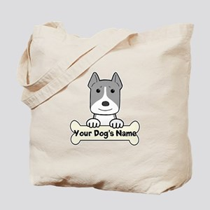 Personalized Pit Bull Tote Bag