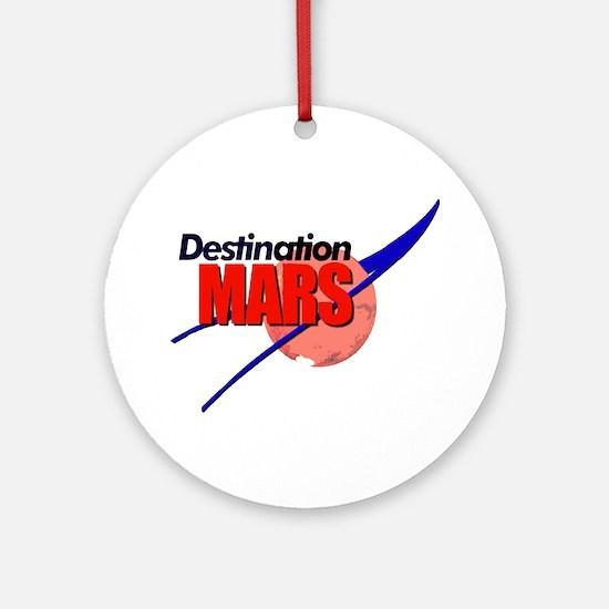 Destination Mars Ornament (Round)