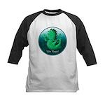 Personalised Wee Nessie (undersea) Baseball Jersey