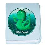 Personalised Wee Nessie (undersea) baby blanket