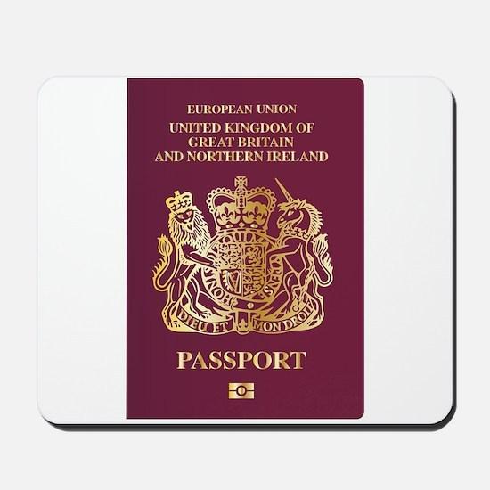 British Passport Mousepad