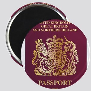 British Passport Magnets