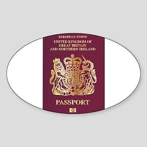 British Passport Sticker