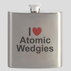 Atomic Wedgies Flask