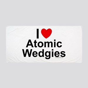 Atomic Wedgies Beach Towel