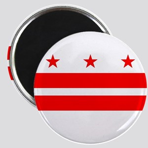 Washington DC State Flag Magnets