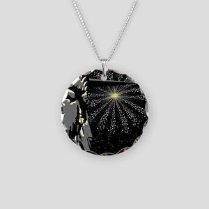 Liberty Necklace Circle Charm