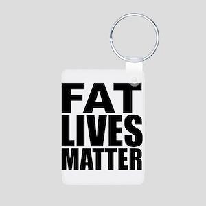 Fat Lives Matter Keychains