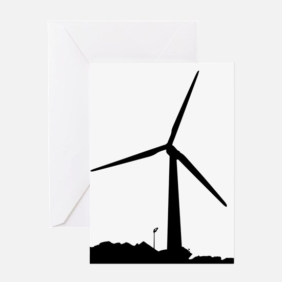 Wind Power Greeting Cards