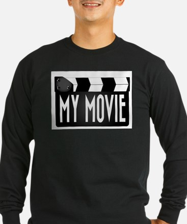 My Movie Clapperboard Long Sleeve T-Shirt