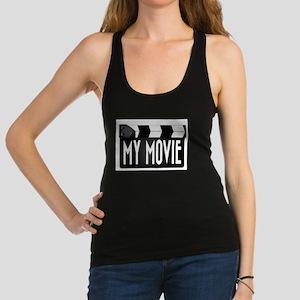 My Movie Clapperboard Racerback Tank Top