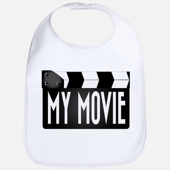My Movie Clapperboard Bib