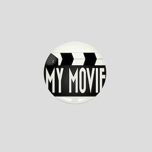 My Movie Clapperboard Mini Button