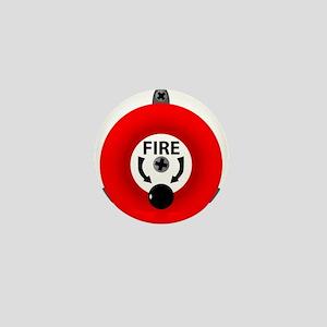 Fire Bell Mini Button