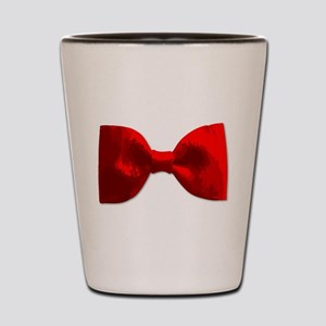 Red Bow Tie Shot Glass