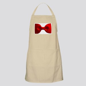 Red Bow Tie Apron
