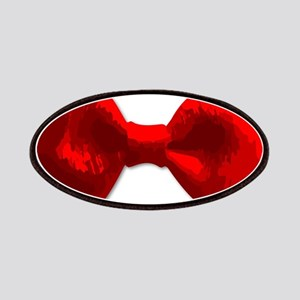 Red Bow Tie Patch