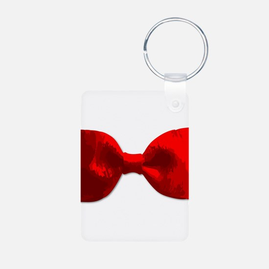 Red Bow Tie Keychains