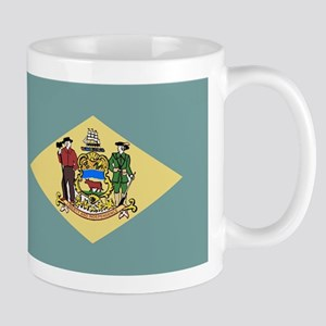 Flag of Delaware Mugs