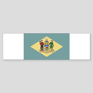 Flag of Delaware Bumper Sticker