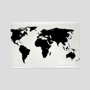 World Outline Magnets