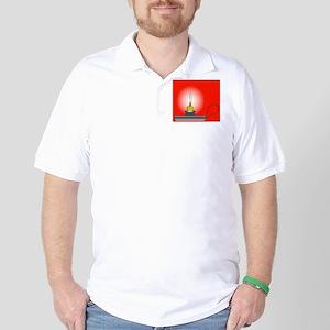 Candle Holder Golf Shirt